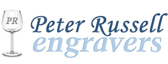 Peter Russell Engravers logo
